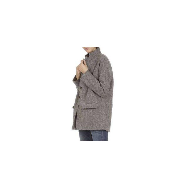 Denim And Supply - Manteau Tweed Blazer Denim & Supply Marron/MULTICOLOR