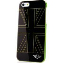Mini - Coque Racing noir et vert pour iPhone 5s drapeau Uk