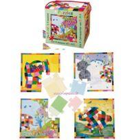 Petit Jour Paris - Coffret 4 puzzles Elmer - Petit Jour