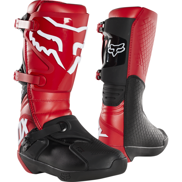 Comp Cross Flam Moto Bottes 41 Red W2IED9H