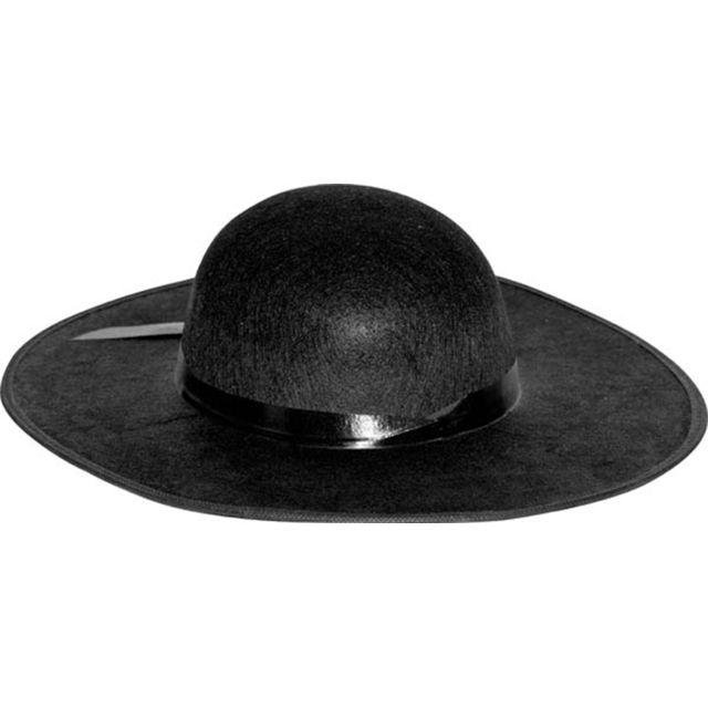 Aptafetes - Chapeau de Curé - Adulte Nc - Taille unique - pas cher Achat    Vente Accessoires déguisements - RueDuCommerce 8eceda27789