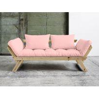 canape rose achat canape rose pas cher rue du commerce. Black Bedroom Furniture Sets. Home Design Ideas