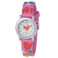 Xtime - Montre enfant pédagogique love rose Xte001-112