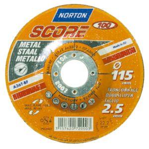Norton disque tron onner 125 mm pour m taux pas - Disque a tronconner 125 ...