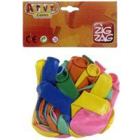 zig zag jeux action - 30 ballons de baudruche