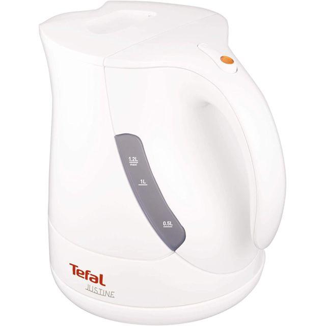 Tefal bouilloire électrique de 1,2L sans fil avec base 360° 2400W blanc