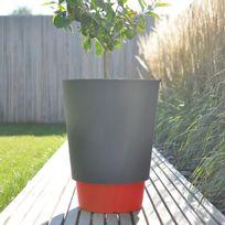 pot fleur rouge achat pot fleur rouge pas cher rue du commerce. Black Bedroom Furniture Sets. Home Design Ideas