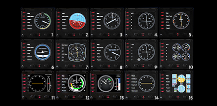 Flight Instrument Panel