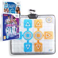 Hobbytech - Pack Dance dance revolution hottest party 4 - Pyjama party + tapis de danse Duo - Wii