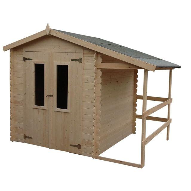 chalet jardin chalet jardin abri de jardin en bois. Black Bedroom Furniture Sets. Home Design Ideas