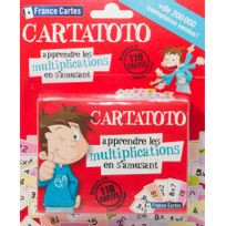 CARTA MUNDI - CARTATOTO apprendre les multiplications