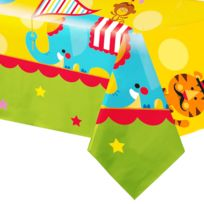 Amscan - Nappe Fisher Price Circus