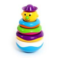 Mgm - dodo d'amour - culbuto multicolore 19 cm - apd 10 mois - 11x 21 x 11 cm