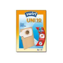 Swirl - Uni 10 - Tasche für Staubsauger Packung von 3