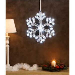 Soldes no name superbe illumination de no l flocon for Illumination exterieur noel