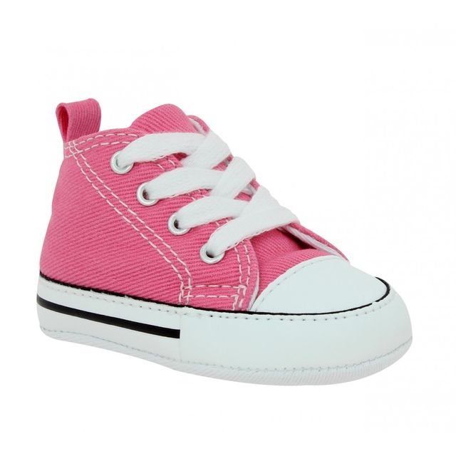 Converse - First Star toile Enfant-18-Rose - pas cher Achat   Vente ... 9a0c9aaec47d