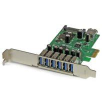 STARTECH - Carte contrôleur PCI Express à 7 ports USB 3.0