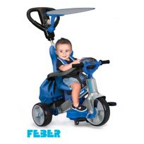 FEBER - Tricycle Baby twist 360 bleu - 800009780
