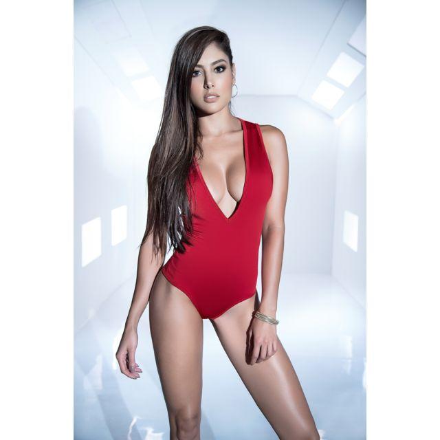 Mapale - Body Sexy Rouge XL - pas cher Achat   Vente Body ... 25a5865e689