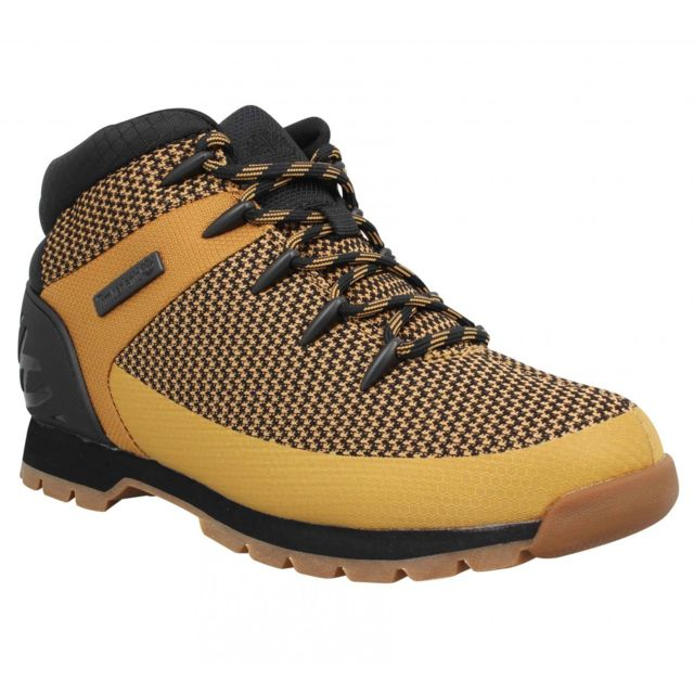 best loved 37472 12f83 Timberland - Timberland Euro Sprint textile Homme-44-Ocre