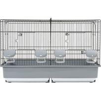 Zolux - Cage Elevage 67 noir/gris