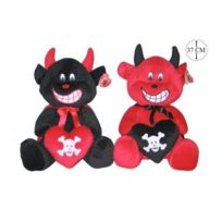 peluche diable achat peluche diable pas cher rue du commerce. Black Bedroom Furniture Sets. Home Design Ideas