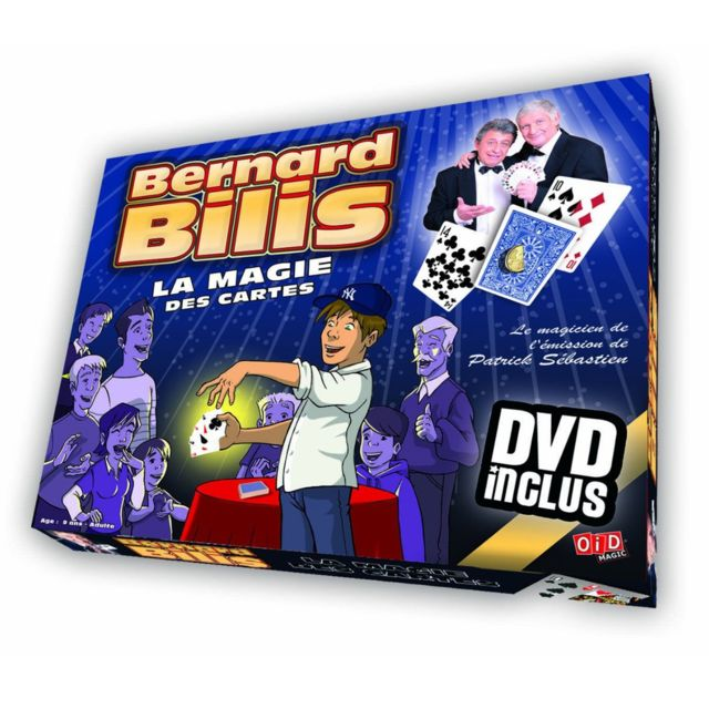 Oid Magic Magie : Coffret cartes Bernard Bilis