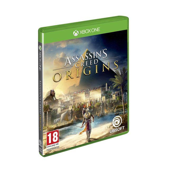 UBISOFT Assassin's Creed Origins - Xbox One Assassin's Creed® Origins est un nouveau départ. Expérimentez une nouvelle façon de combattre en explorant les Grandes Pyramides et tombeaux cachés à travers le pays