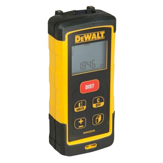 Dewalt - DW03050 Télémètre de Chantier Laser 50m LDM Class 2 avec pochette 005532ed676a