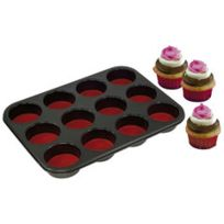 Yoocook - Moule à 12 Muffins Ou Cupcakes Pushpan