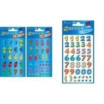 "Avery - Zweckform Etiqettes Z-design ""CHIFFRES Multicolores"" 59335"