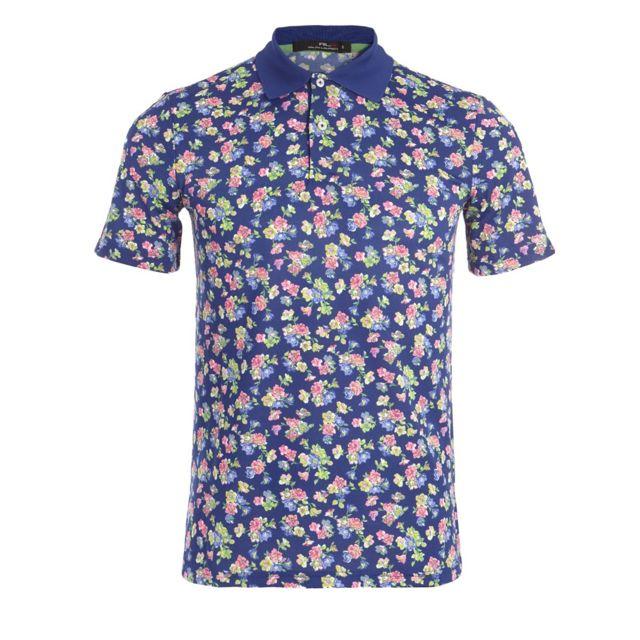 2ee43ecd03457b Polo Ralph Lauren - Polo Rlx Ralph Lauren Ss Kc Pf Short Sleeve Knit Blue -  Sh318XZ1FPXY1FPXW1NB Bleu - pas cher Achat   Vente Polo homme -  RueDuCommerce