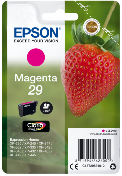 EPSON Cartouche d'encre - Fraise Claria Home - Magenta