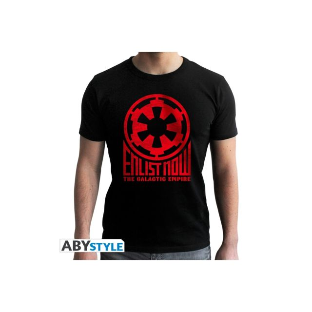 Abystyle Star Wars - T-shirt homme Galactic Empire