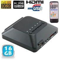 Yonis - Passerelle multimédia lecteur vidéo Full Hd 1080p Hdmi 16 Go