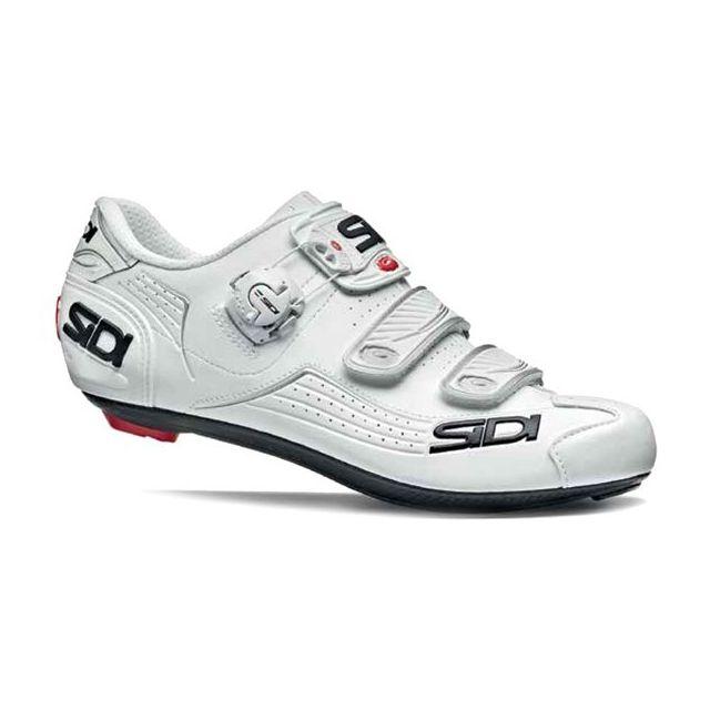 41c2f0c84cd Sidi - Chaussure Alba Blanche Chaussures Vélo - pas cher Achat   Vente  Chaussures cyclisme - RueDuCommerce