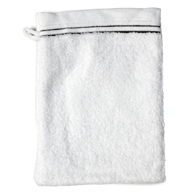 linnea gant de toilette 16x21 cm juliet blanc 520 g m2. Black Bedroom Furniture Sets. Home Design Ideas