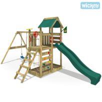 Wickey - Aire de jeux en bois MultiFlyer portique