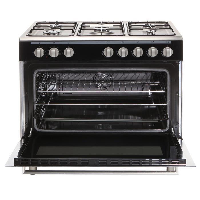 continental edison cecp9060mb cuisiniere noire pas cher achat vente rueducommerce. Black Bedroom Furniture Sets. Home Design Ideas