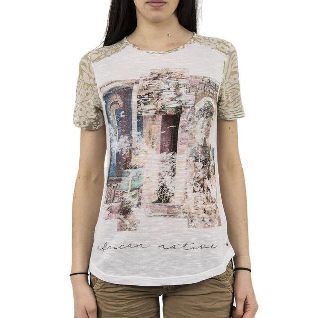 CREAM Tee shirt 10601770 sanel blanc