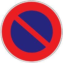 "Outibat - Panneau ""Stationnement interdit"