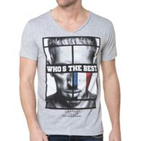 Celebry tees - T-shirt Homme Manches Courtes Photo