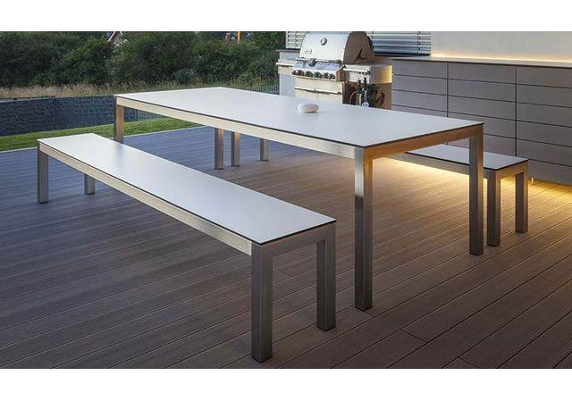 Todus Ensemble Table Banc Dextérieur De Luxe 205 Cm Leuven
