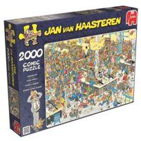 Jumbo - Puzzle 2000 pièces : Faites la queue, Jan Van Haasteren