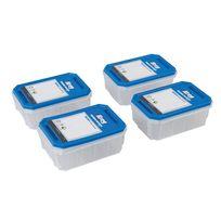 Kreg - Lot de 4 boîtes à quincaillerie - Kss-s Petit modèle