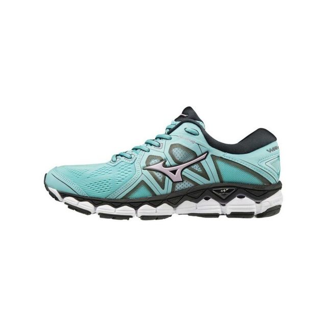 852e8e86ab4 Mizuno - Wave Sky 2 femme - pas cher Achat   Vente Chaussures running -  RueDuCommerce