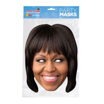 Mask-arade - Masque Carton - Michelle Obama