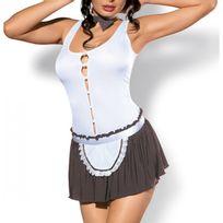 Obsessive - Costume Cookie blanc