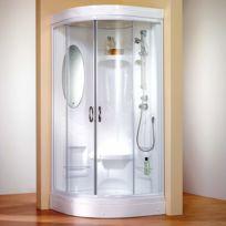 Cabine de douche avec siege achat cabine de douche avec Porte de douche coulissante arrondie