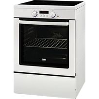 Faure - Cuisinière Induction Four Pyrolyse Fci6601MWP FCI 6601 Mwp